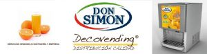 DISPENSADOR ZUMOS DON SIMON BY DECOVENDING
